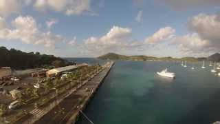 preview picture of video 'Charlotte Amalie, St. Thomas, USVI - Jewel of the Seas Arrival Time Lapse HD (2015)'