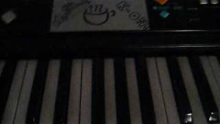 Abandon All Ships - Piano Intro! (Children remix) Tutorial..