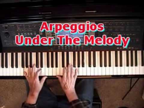 - How To Put Arpeggios (Broken Chords) Under Your Right Hand Melody -