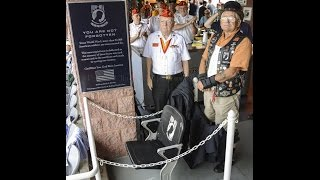 preview picture of video 'Wilmington Blue Rocks POW-MIA National Chair of Honor Dedication | July 19, 2014'