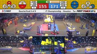 Quarterfinal 6 - 2018 FIRST Championship - Houston - Turing Subdivision