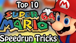 Top 10 Super Mario 64 Speedrun Tricks (Ft. SimpleFlips)