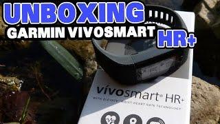 Garmin Vivosmart HR+: Unboxing und Hands On [deutsch]