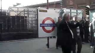 preview picture of video 'London Underground A Stock Farewell Railtour #12 - Harrow on the Hill Departure (Northbound)'