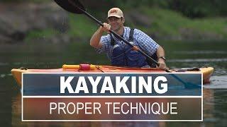 Proper Technique for Paddling a Kayak
