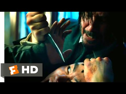 John Wick: Chapter 3 - Parabellum (2019) - Throwing Knives Scene (1/12)   Movieclips