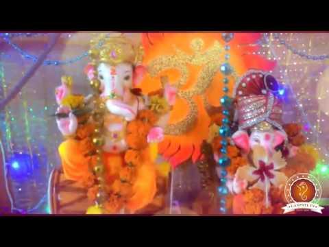 Rakesh Birajdar Home Ganpati Decoration Video