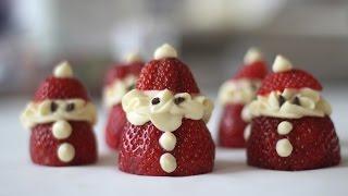Kembali ke Masa Kecil dengan Santa Claus Strawberry Dessert