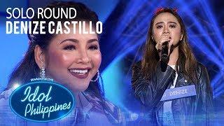 Denize Castillo - Buwan   Solo Round   Idol Philippines 2019