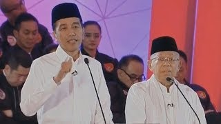Video Serangan Pertama Jokowi kepada Prabowo di Debat Pilpres, Singgung Kasus Hoaks Ratna Sarumpaet