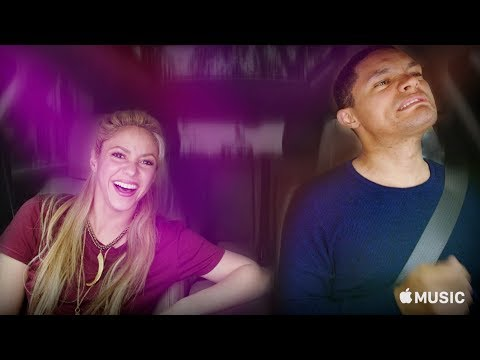 Video: Trevor Noah in Carpool Karaoke with Shakira in Spain