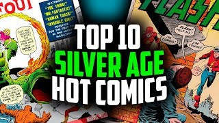 Top 10 Silver Age Books by Overstreet 2018!