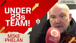 """WE'RE AN UNDER 23s TEAM!"" Mike Phelan Full Time Devils Interview"