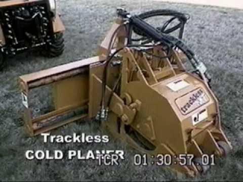 Asphalt Cold Planer