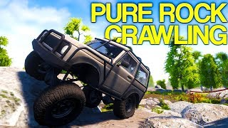 Pure Rock Crawling - Rock Crawling On Impossible Mountains! - Pure Rock Crawling Gameplay
