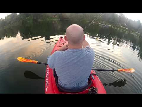 Bass fishing ball pond