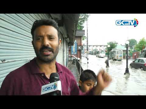 Downpour submerges Lal Chowk, again