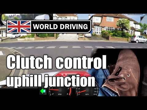 Clutch Control At Junctions –  Uphill