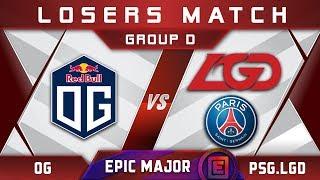 OG vs PSG.LGD EPICENTER Major 2019 Highlights Dota 2