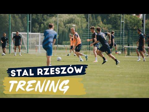 Piłkarze Stali Rzeszów przygotowują się do sezonu 2021/2022 [WIDEO]