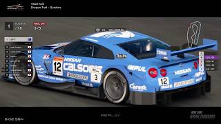 Gran Turismo™SPORT - Dragon Trail Gardens Nissan GTR Gr2 (online race)