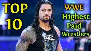 Top 10 WWE Salaries 2018 / 2019 | Highest Paid Wrestlers / Superstars (Latest Released)