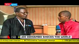 Joe Odhiambo shocks the world in ball handling | #KTNScoreline