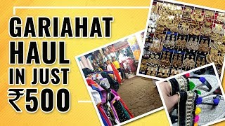 Under 500 Rupees Ll Gariahat Haul Ll Sandal, Tops, Earing And Many More Ll Vlog Ll Cheapest Price