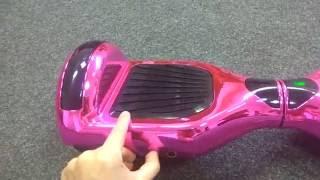 смотреть обзор Гироскутера WINNER W2 PRO MUSIC CHROME 6.5 Pink