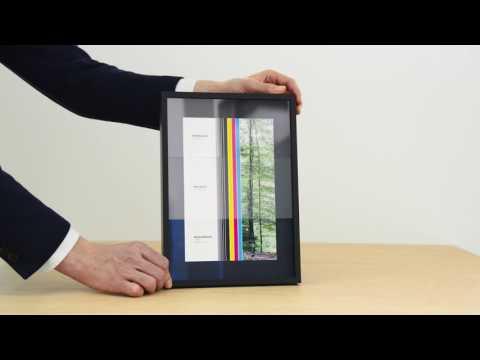 Glasvergleich - Unterschiede beim Bilderrahmen Glas.