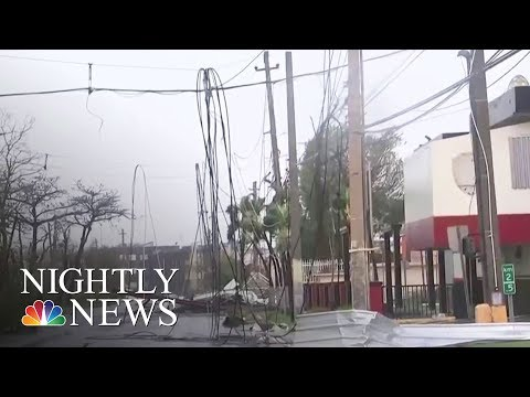 Hurricane Maria Knocks Out Power Across All Of Puerto Rico | NBC Nightly News