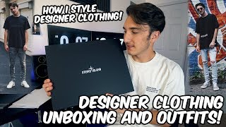 DESIGNER CLOTHING UNBOXING AND OUTFITS!