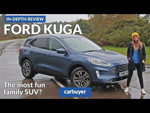 2021 Ford Kuga in-depth review - the most fun family SUV?