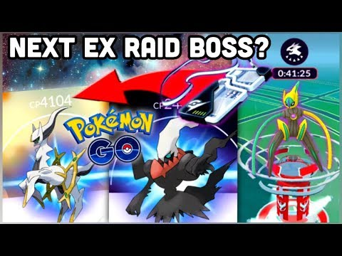 NEXT EX RAID BOSS ARCEUS IN POKEMON GO? DEOXYS SPEED EX PASS OUT NOW