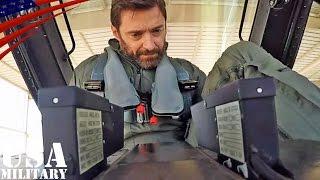 Хью Джекман, Полет Хью на американском истребителе F-16