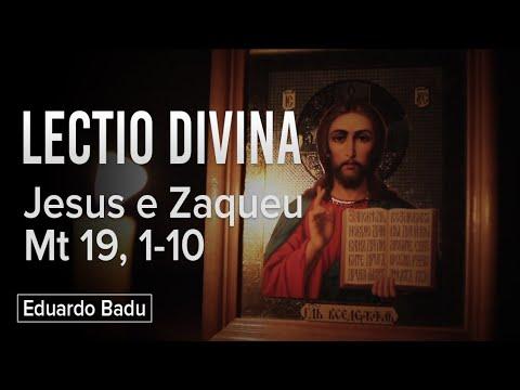 Lectio Divina || Eduardo Badu #2 || Jesus e Zaqueu se encontram
