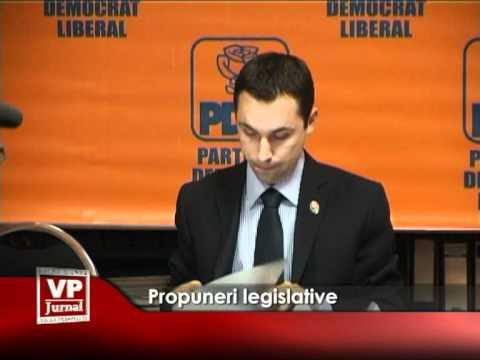 Propuneri legislative