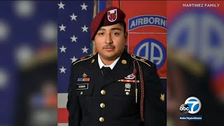 Soldier from Chino killed, dismembered while on camping trip with fellow soldiers from Fort Bragg
