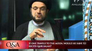 Would we have to pray Qasr on the moon? | General Q&A