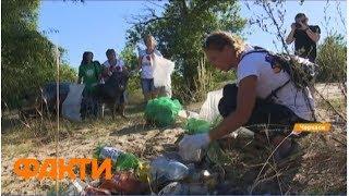 Плогинг в Черкасской области: за 40 минут собрали тонну мусора