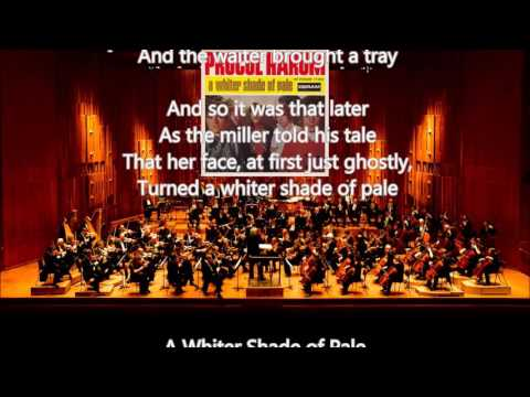 A Whiter Shade Of Pale~ The London Symphony Orchestra~Lyrics Mp3