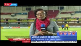 Kenyans chasing medals on day 5 of the World U-18 Championships at Kasarani