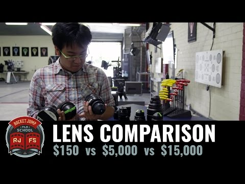 Can You Tell The Difference Between A $150 Camera Lens And A $15,000 One?