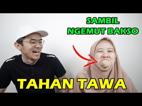 DERITA PASANGAN RECEH 😭 TAHAN TAWA SAMBIL NGEMUT BAKSO