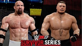 WWE Survivor Series 2016: Goldberg vs. Brock Lesnar (The Rematch After 12 Years)