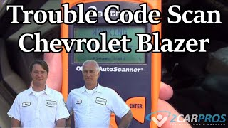 How to read codes Chevrolet Blazer