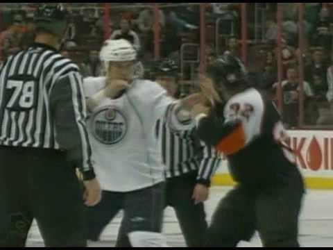 Riley Cote vs. Steve MacIntyre