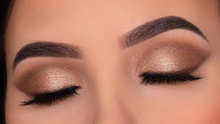 $4 PALETTE! Soft Everyday Eye Makeup Tutorial   Drugstore Makeup
