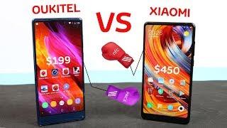 Смартфон Oukitel MIX 2 6/64GB Blue от компании Cthp - видео 3