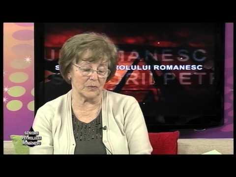 Emisiunea Seniorii Petrolului Românesc – Marie Jeanne Săvulescu – 28 martie 2015